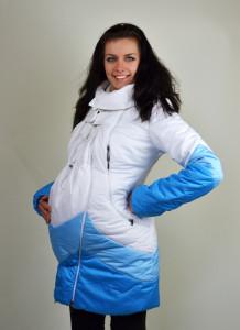 Женский пуховик для беременных