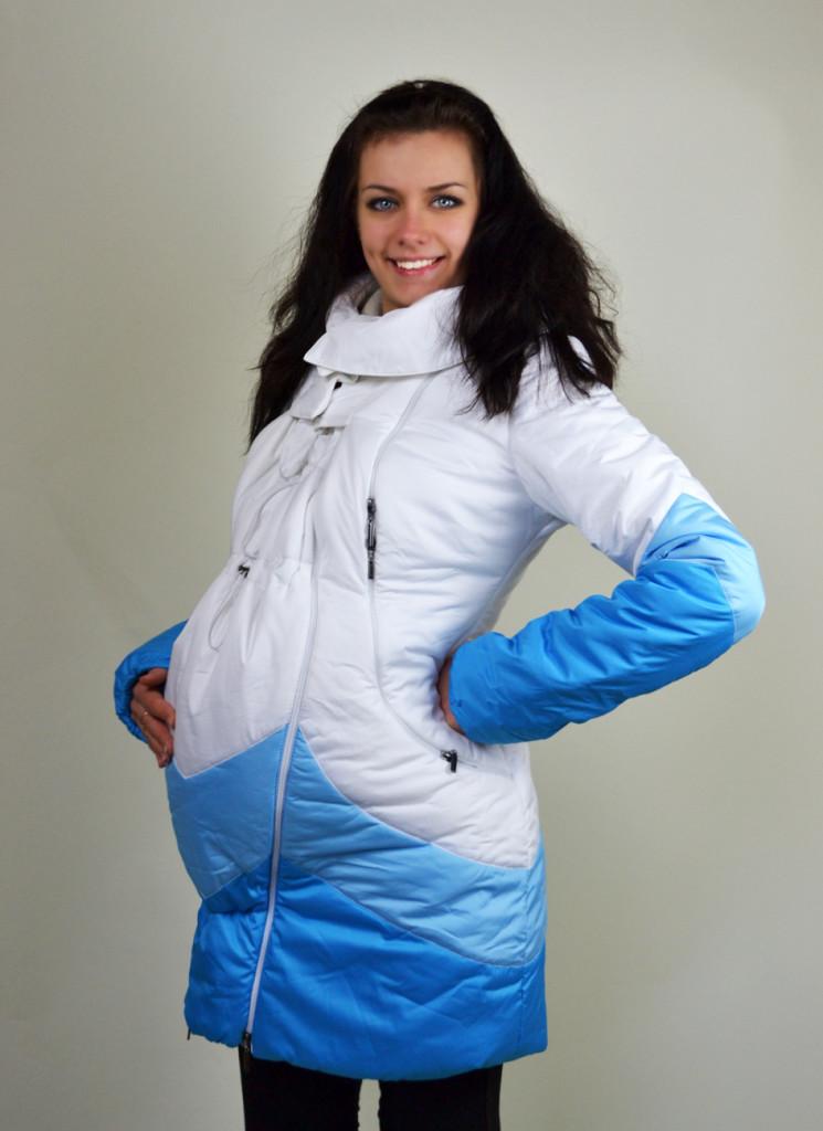 Фото пуховиков женских зима беременные 92